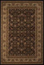 Momeni Royal Ry-02 Black Area Rug