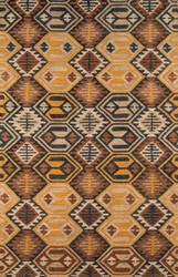 Momeni Tangier Tan18 Black Area Rug