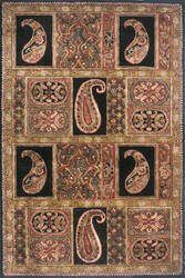 Momeni Antique Ab-35 Black Area Rug