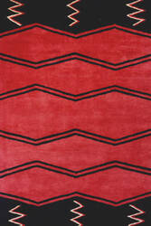 Momeni Aspen As-04 Red Area Rug