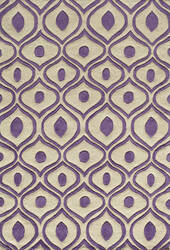Momeni Bliss Bs-09 Purple Area Rug
