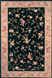 Momeni Melody Md-01 Black Area Rug