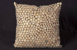 Nourison Pillows Button 4002 Blue