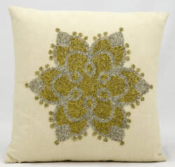 Nourison Pillows Luminescence A2754 Beige