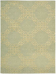 Nourison Ambrose Amb01 Light Green Area Rug