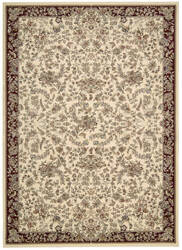 Kathy Ireland Antiquities Ant07 Ivory Area Rug