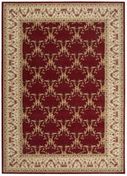 Nourison Ashton House AS-07 Burgundy Area Rug
