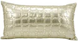 Nourison Pillows Luminescence At194 Light Gold