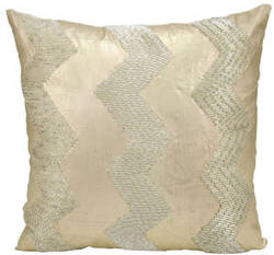 Nourison Pillows Luminescence At303 Light Gold