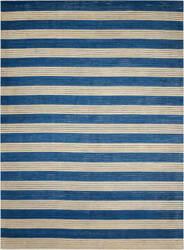Nourison Ripple Rip02 Midnight Blue Area Rug