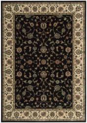 Nourison Persian Arts Bd04 Black Area Rug