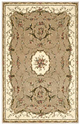 Nourison Bordeaux Bor01 Cream Area Rug