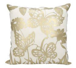 Nourison Luminescence Pillow Bt001 Gold