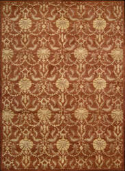 Nourison Charleston CH-04 Rust Area Rug