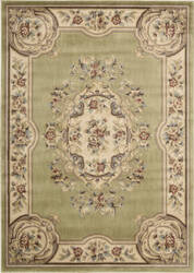 Nourison Chateau Cht01 Light Green Area Rug