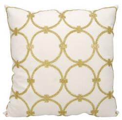 Nourison Luminescence Pillow E0953 Light Gold