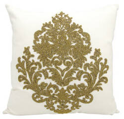 Nourison Luminescence Pillow E0998 Bronze