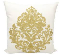 Nourison Luminescence Pillow E0998 Gold
