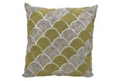 Michael Amini Pillows E1825 Silver Gold
