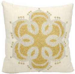 Nourison Luminescence Pillow E2754 Beige