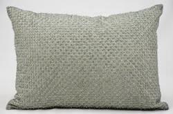 Kathy Ireland Pillows E2919 Silver Grey