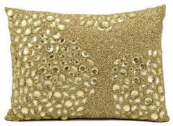 Nourison Pillows Luminescence E5000 Light Gold
