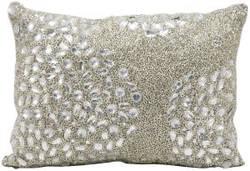 Nourison Pillows Luminescence E5000 Silver