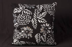 Nourison Pillows Luminescence E5159 Black