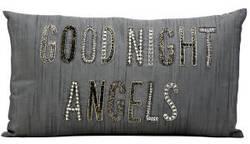 Kathy Ireland Pillows E5174 Silver Grey