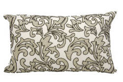 Nourison Pillows Luminescence E5553 Silver