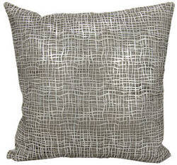 Nourison Mina Victory Pillows Es022 Silver White