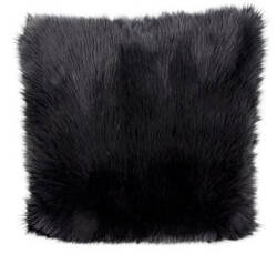 Nourison Fur Pillow Fl101 Black