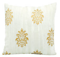 Michael Amini Pillows Fm061 Ivory