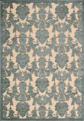 Nourison Graphic Illusions GIL-03 Teal Area Rug