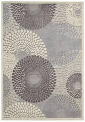Nourison Graphic Illusions GIL-04 Grey Area Rug