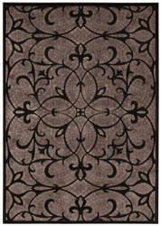Nourison Graphic Illusions Gil05 Black Area Rug