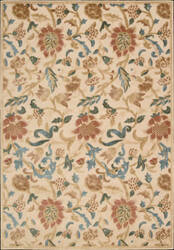Nourison Graphic Illusions GIL-06 Light Gold Area Rug