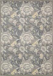 Nourison Graphic Illusions GIL-10 Grey Area Rug
