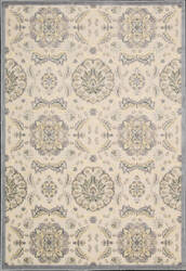 Nourison Graphic Illusions GIL-12 Ivory Area Rug