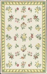 Nourison Country Heritage H-560 Ivory Area Rug