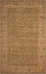 Nourison Heritage Hall He20 Green Area Rug