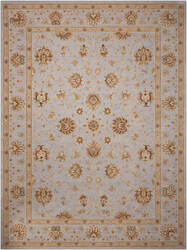 Nourison Heritage Hall He28 Light Blue Area Rug