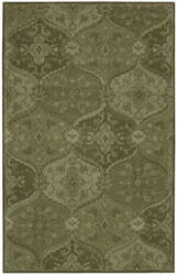 Nourison India House Ih88 Green Area Rug