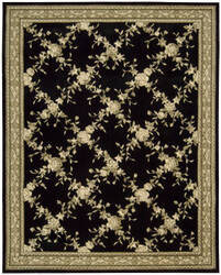 Nourison Julian JL-58 Black Area Rug