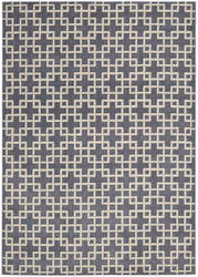 Kathy Ireland Ki01 Hollywood Shimmer Time Square Ki101 Steel Area Rug