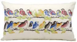 Nourison Pillows Outdoor L1159 White