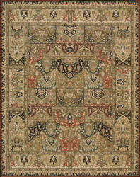 Nourison Living Treasures LI-02 Khaki Area Rug