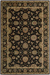Nourison Living Treasures LI-05 Black Area Rug