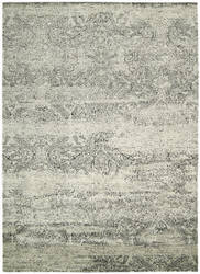 Nourison Luminance Lum11 Ivory-Black Area Rug