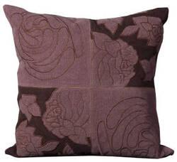 Nourison Pillows Cowhyde M4112 Violet